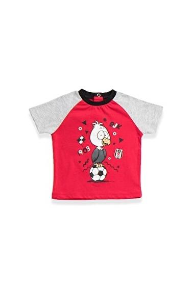 Beşiktaş Beşiktaş Lisanslı Bebek T-Shirt Kırmızı Kırmızı